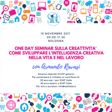 Bologna – Come sviluppare l'Intelligenza Creativa nella Vita e nel Lavoro