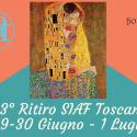 3° Ritiro Olistico SIAF Toscana 29-30 Giugno e 1 Luglio 2018