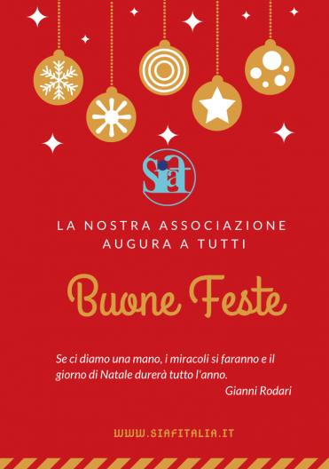 Auguri di Buone Feste da SIAF Italia
